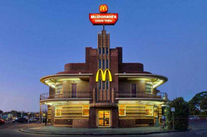 Самые необычные здания МакДональдс