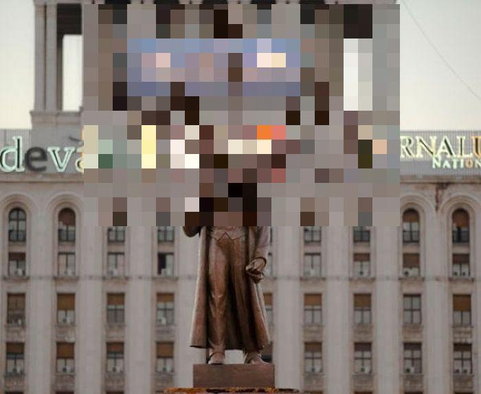 Креативный памятник Ленину в виде Гидры (2 фото)