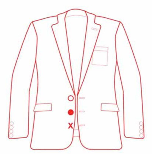 Загадочный мужской пиджак (2 фото)