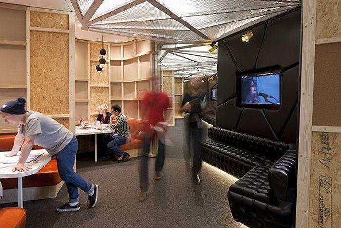 Офис-студия YouTube в шикарном офисе в Лондоне