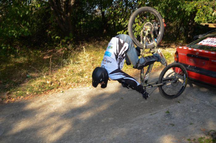 Экстремалы на велосипедах (40 фото)