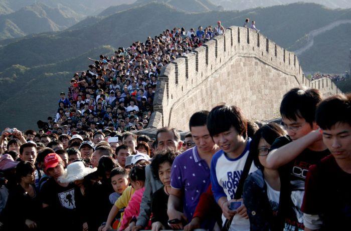 Великая Китайская стена разрушается
