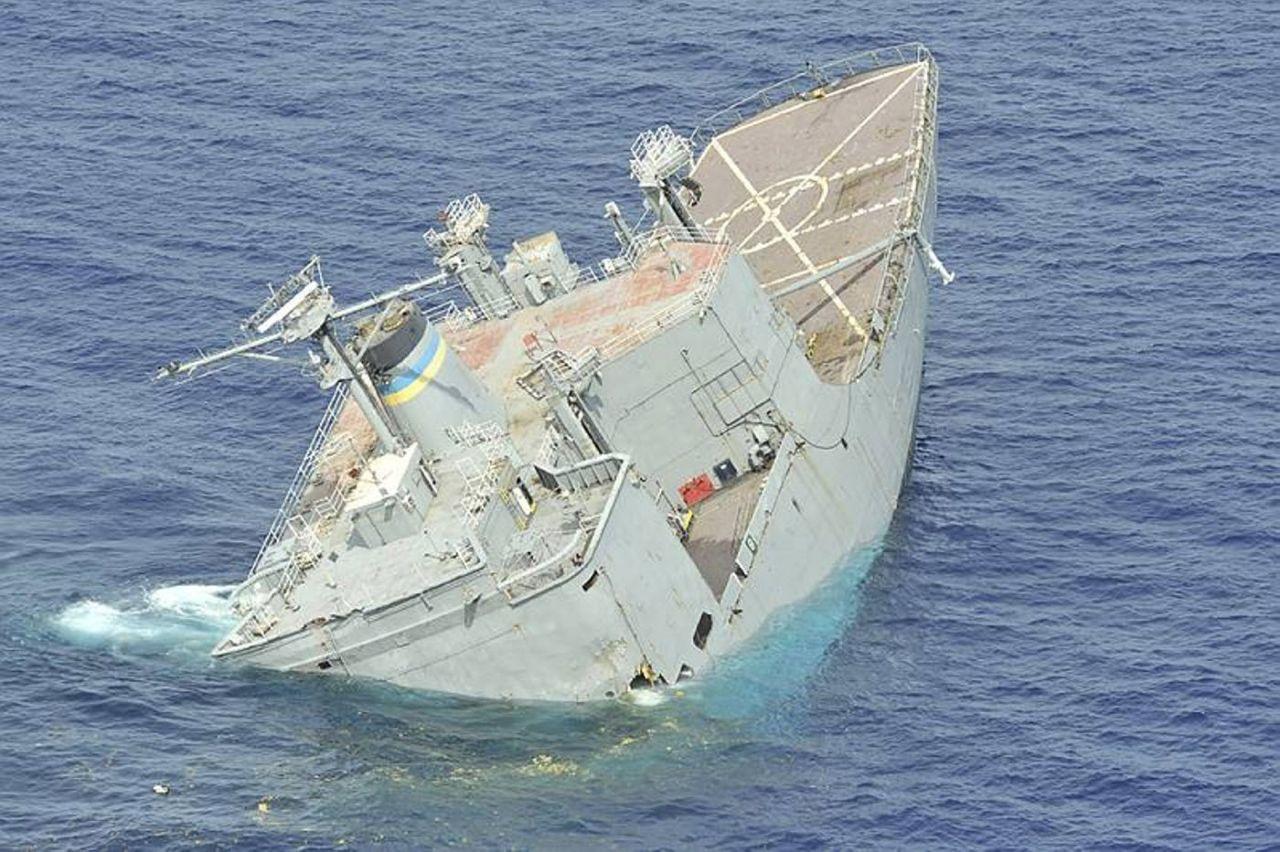 судаева большей тонет американский корабль фото приблизить себя миру