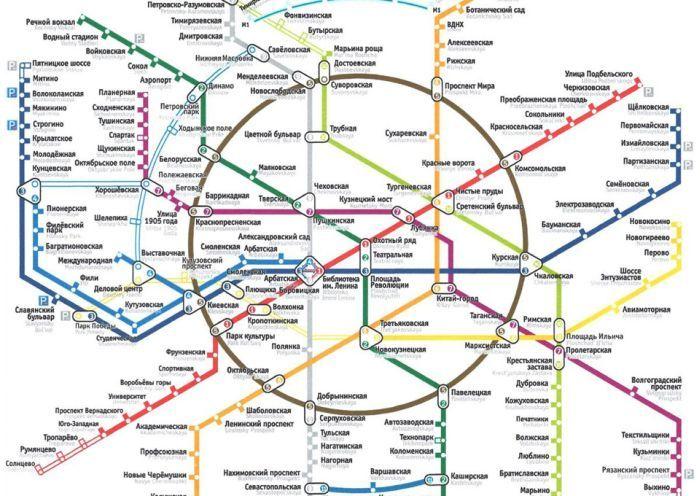 Ошибки в новой схеме московского метро (13 фото)