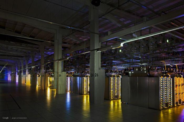 Фотоэкскурсия по дата-центру компании Google