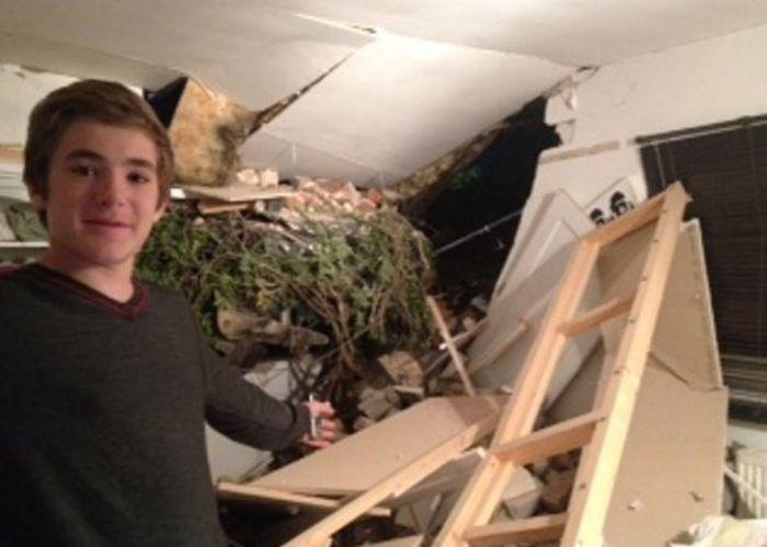 15-летний мальчик чудом выжил