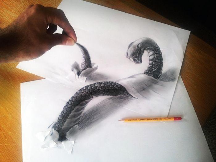 а рисунок карандашом природа