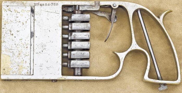 Редкое огнестрельное оружие 1879 года