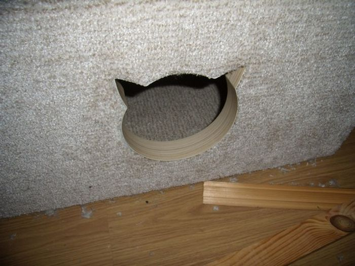 Супер домик для любимого котейки