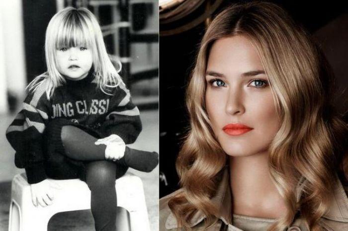 Какими были супермодели в детстве (11 фото)