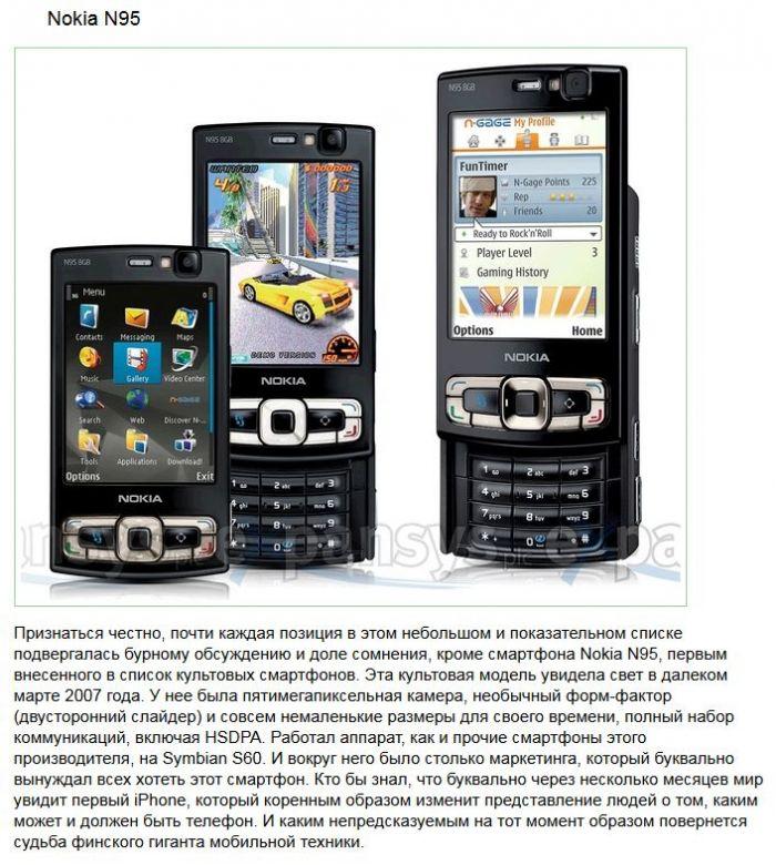 Мобильные телефоны из прошлого, которые удивили мир (10 фото)