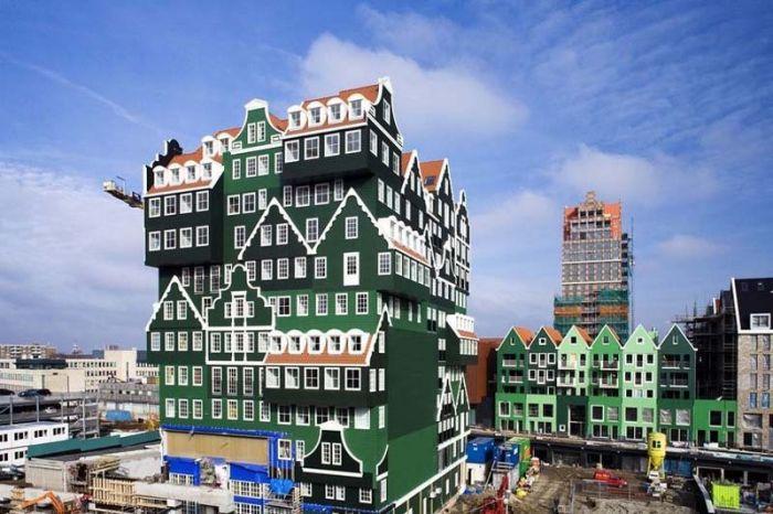 Уникальный и необычный отель-конструктор в Нидерландах