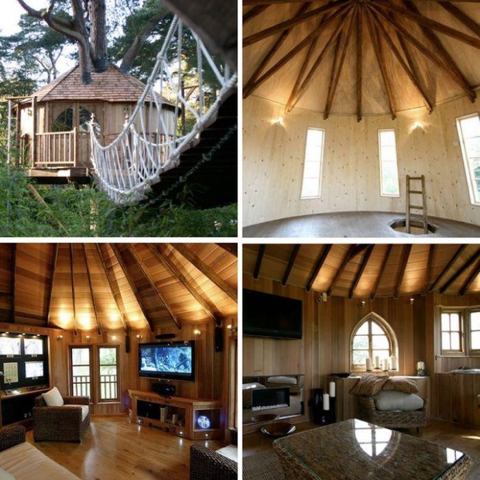 Шикарные дома на деревьях