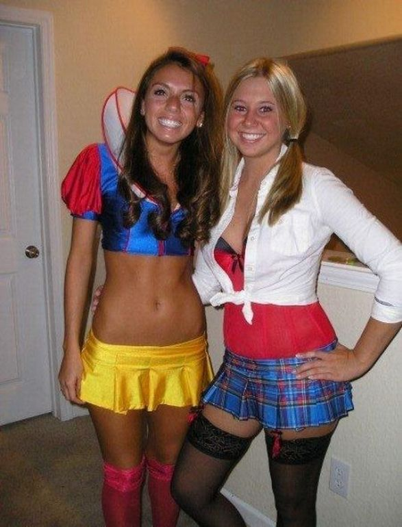 Sexy costume party