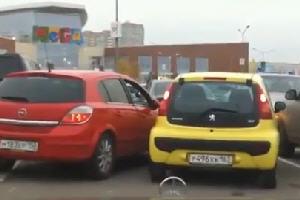 Дуры на парковке