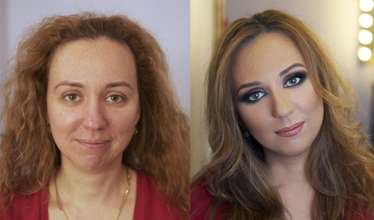 фотографии до и после: