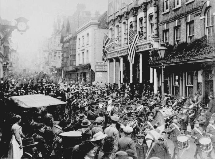 Уникальные архивные снимки в день окончания Первой Мировой Войны