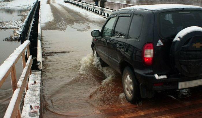 Новый мост за 30 млн. рублей в Кировской области
