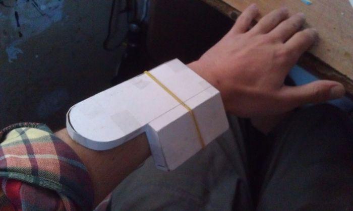 Креативные наручные стимпанк-часы