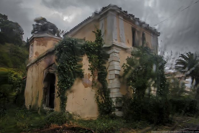 Заброшенный курорт в Хорватии