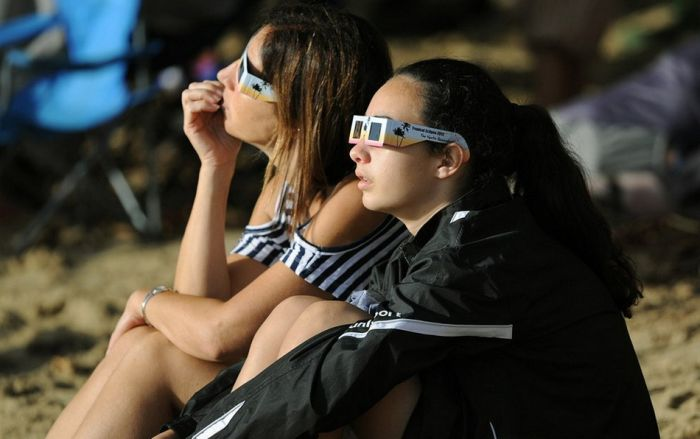 Фотоотчет о Солнечном затмении в Австралии