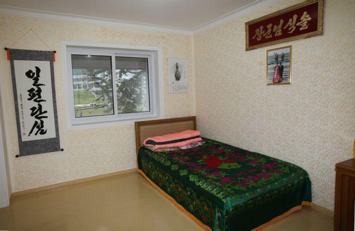 Квартира среднестатистического рабочего в Северной Корее
