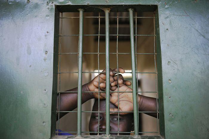 Подборка снимков из тюрьмы в Южном Судане