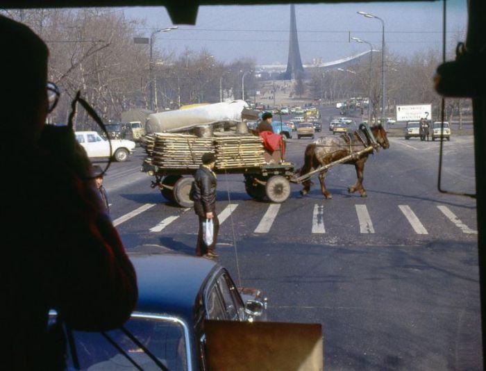 Интересные и уникальные снимки старой Москвы