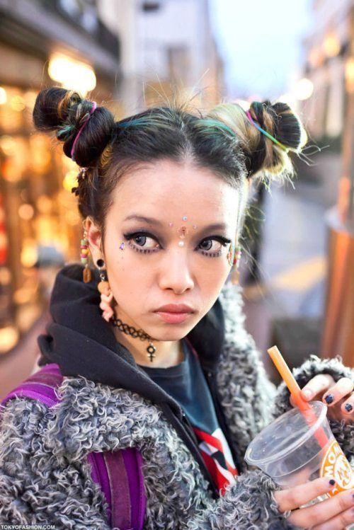Молодежная мода в Токио (37 фото)