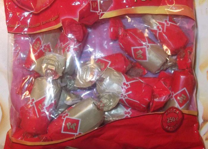 Неприятная неожиданность в шоколадных конфетах