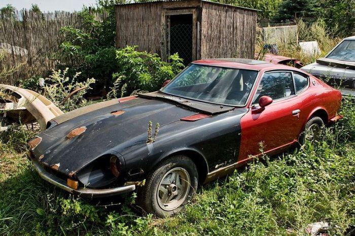 Из старого корыта в крутое авто для дрифта (28 фото)