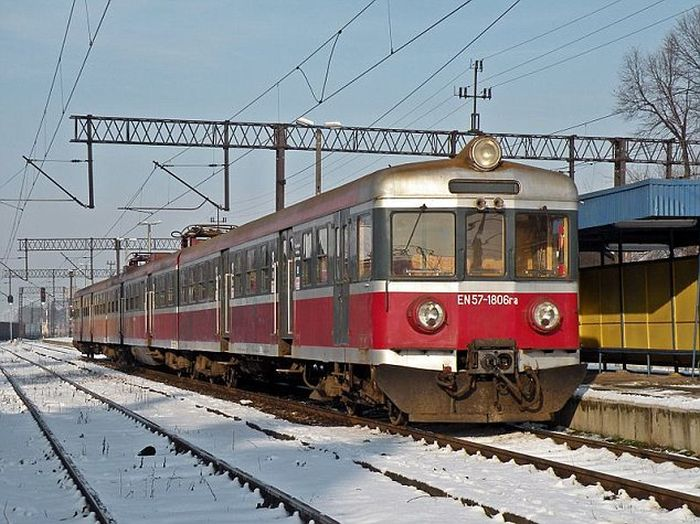 Очень суровая поездка на польском поезде