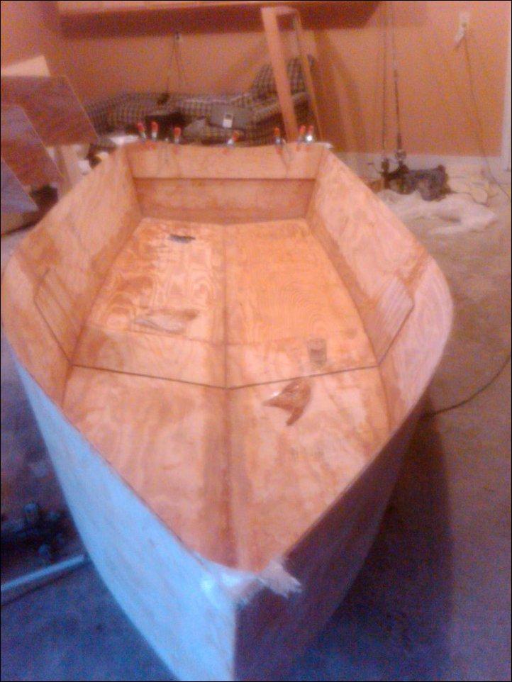Сделать фанерную лодку своими руками