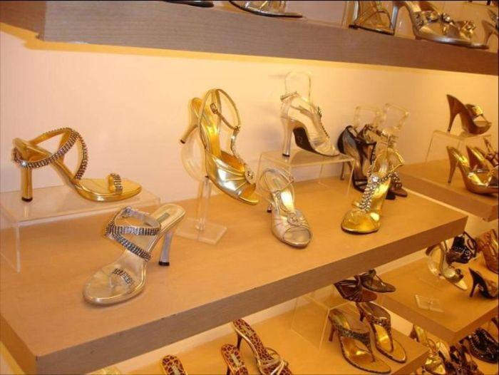 Как производят гламурные туфельки в Индии