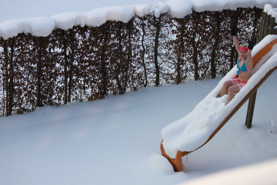 мороз на улице прикольные фото