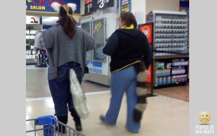 Подборка смешных и странных людей из американских супермаркетов