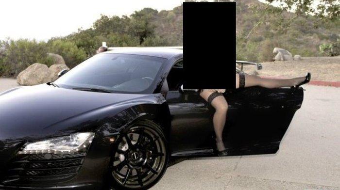 Как девушка решила продать побыстрее Audi R8