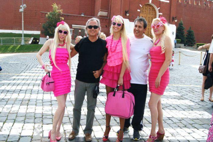 Эти девушки сходят с ума по розовому (42 фото)