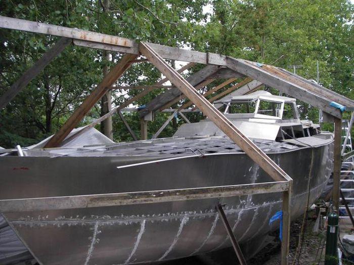 Парусная яхта своими руками