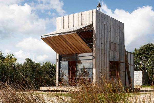 Классный переносной пляжный домик (7 фото)