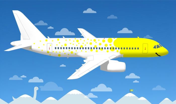 Самые креативные варианты раскраски для самолетов Аэрофлота (50 рисунков)