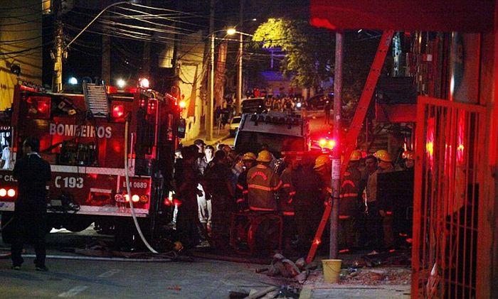 Серьезный пожар в одном из ночных клубов Бразилии