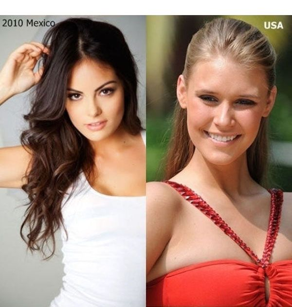 Победительницы конкурсов красоты из разных стран мира