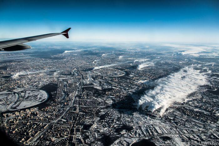 Качественные снимки Москвы с высоты птичьего полета