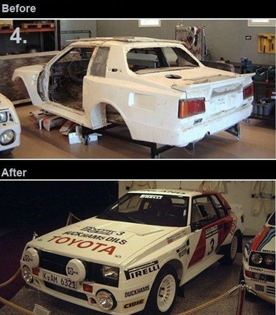 Реинкарнация старых автомобилей (11 фото)
