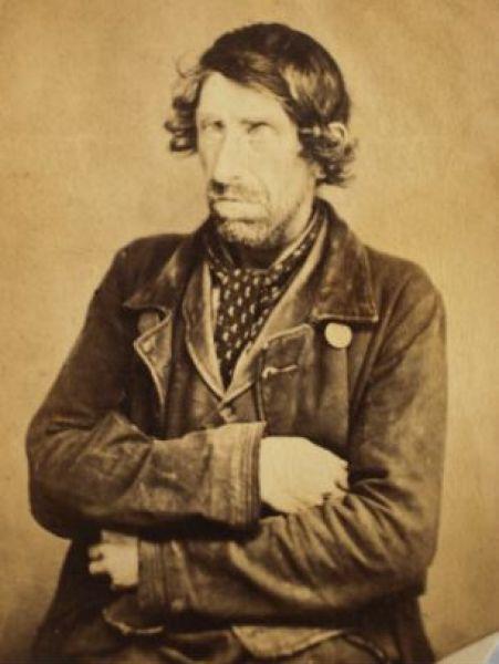 Первые снимки преступников, сделанные в тюрьме полтора столетия назад