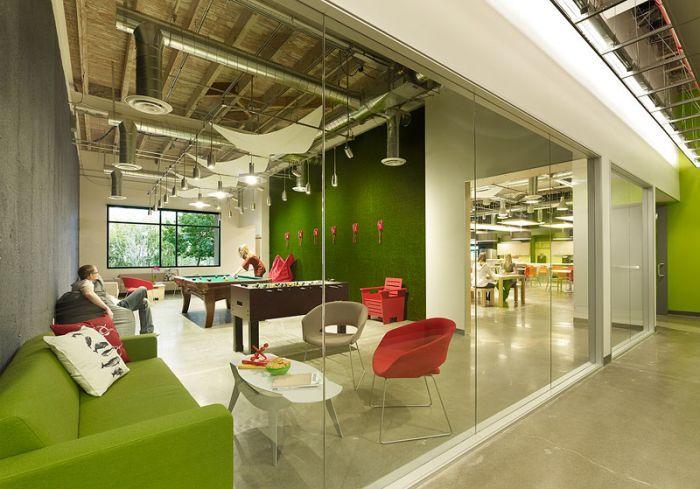 Новый офис Skype в Калифорнии