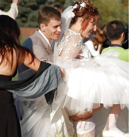 На фото подсмотры свадьбах