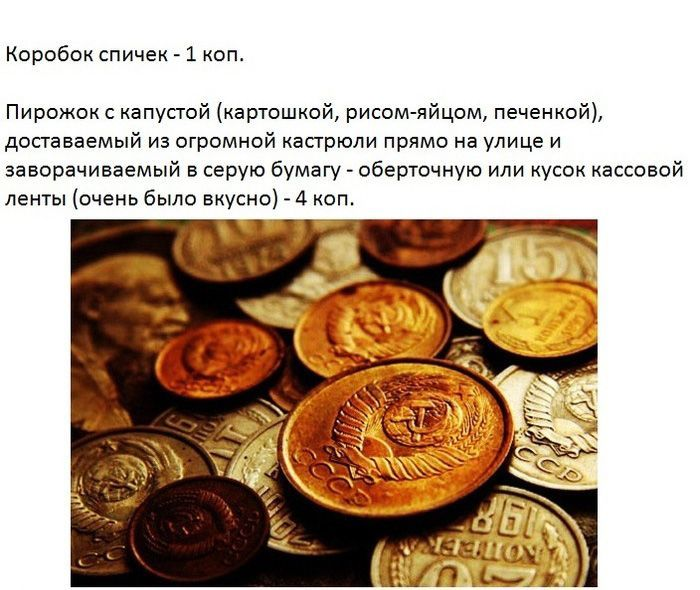 Ностальгия: Какими были цены в Советском Союзе