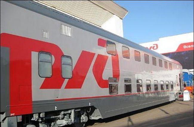 Новые двухэтажные вагоны в Мурманской области